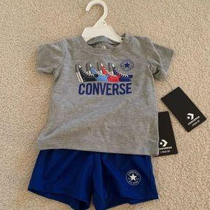 ✅ converse boys 12 months 2 piece set